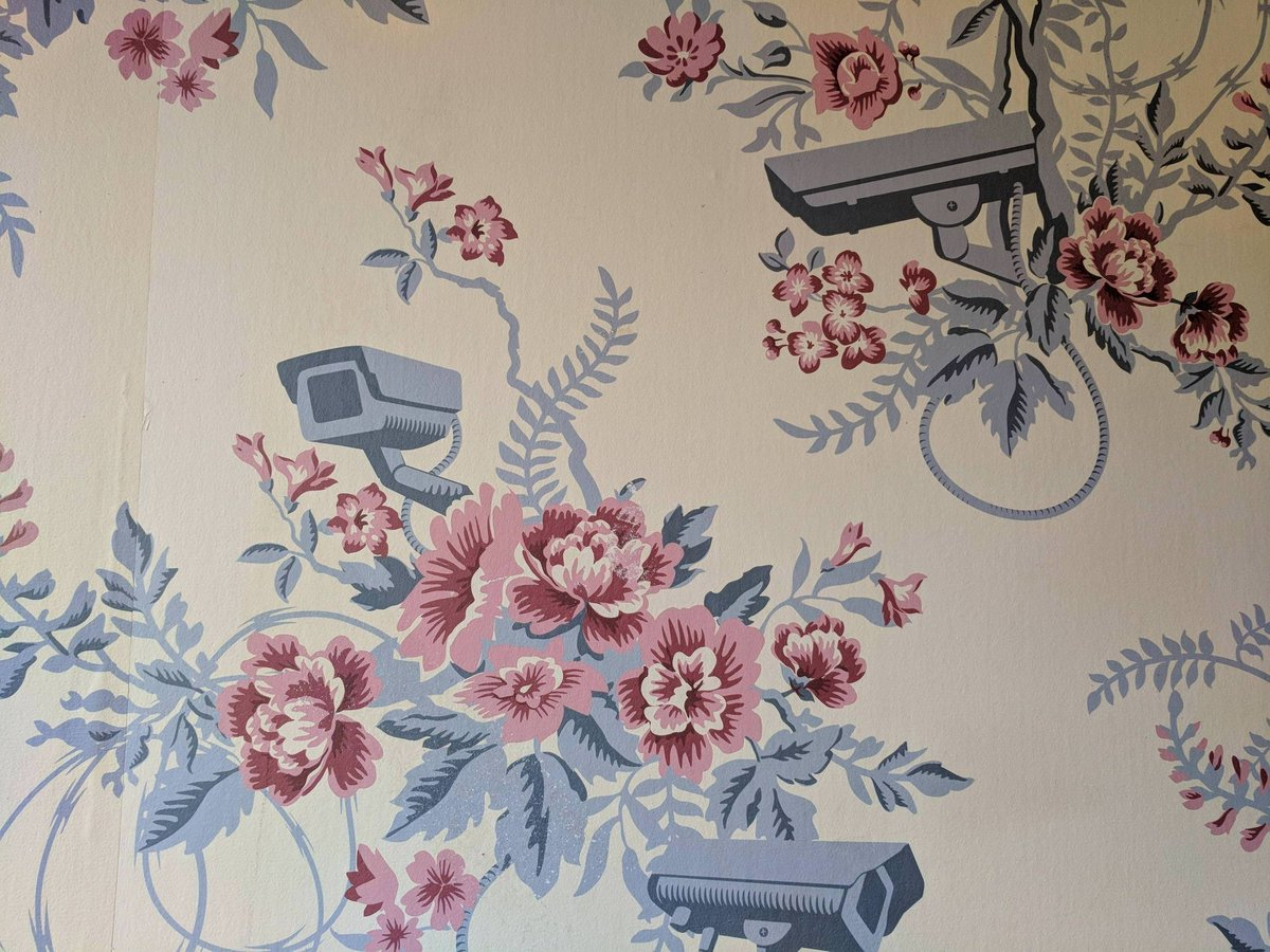 Floral CCTV wallpaper Boing Boing 1200x900