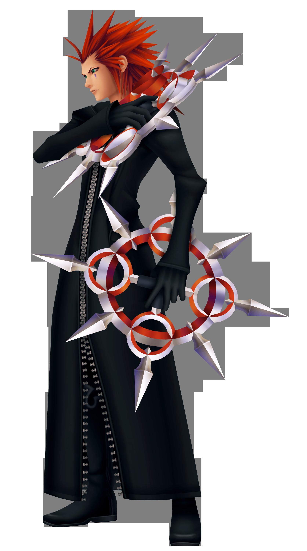 Axel   Kingdom Hearts Insider 1672x3000