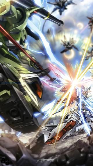 Gundam 003 Anime   iPhone Wallpaper 320x568