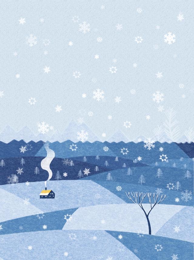 Aleteo De Copos De Nieve Invierno Background Copo De Nieve 640x856