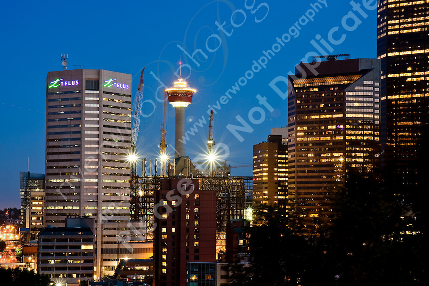 Calgary At Night From Calgary Tower HD Walls Find Wallpapers 860x574
