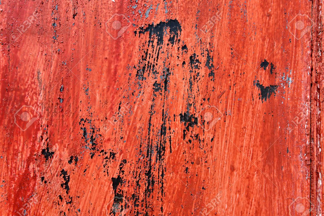 Red Painted Weathered Background A Window Glass Painted In Red 1300x867
