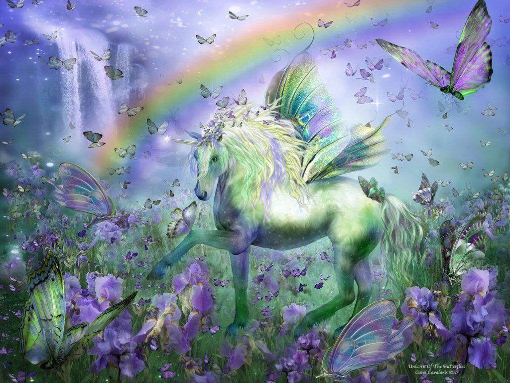 Unicorn Backgrounds 1024x768