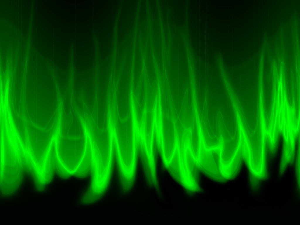 Green Fire Wallpaper Background Green Flame Wallpaper ...