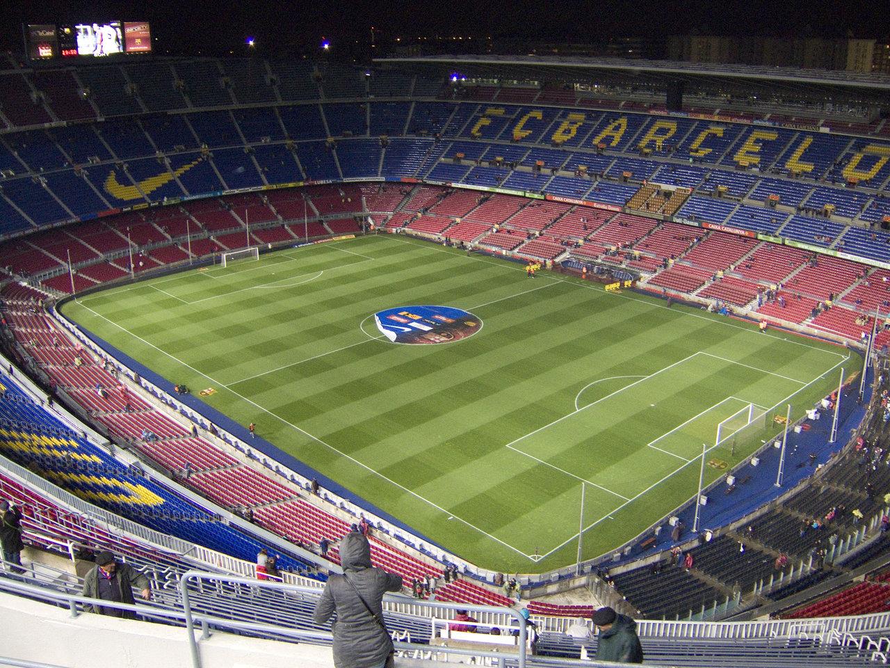 Gambar Stadion Camp Nou Barcelona 1280x960