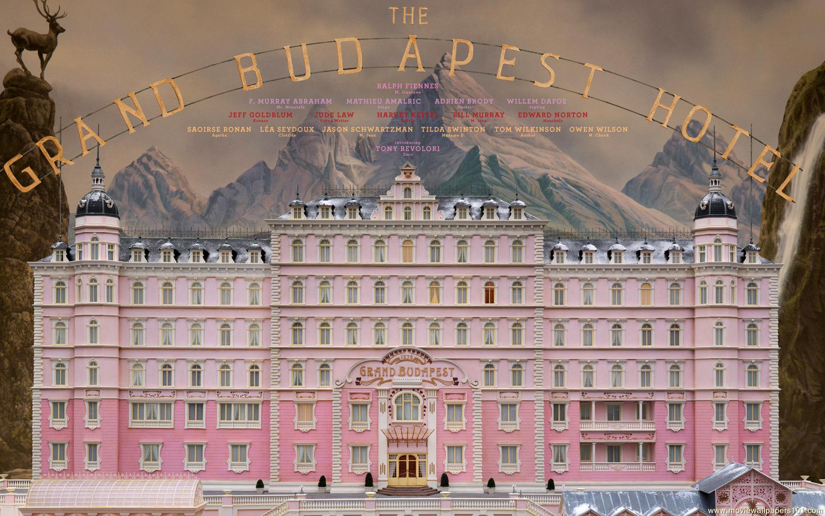 The Grand Budapest Hotel wallpaper   1680x1050 1680x1050