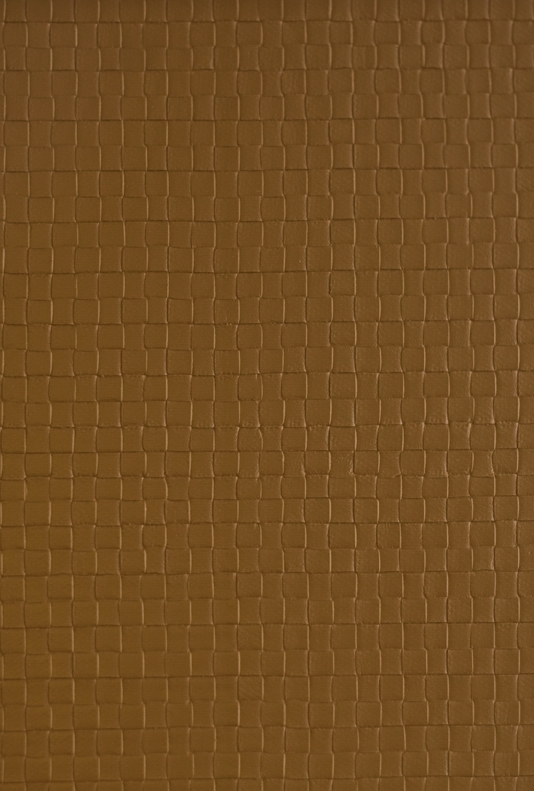 Granada Weave Faux Leather Vinyl Wallcovering Light Brown faux leather 534x791