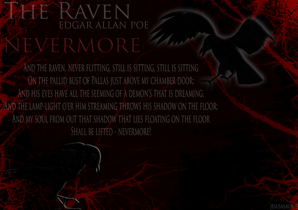 The Raven   Wallpaper by Jesusasaurus 1024x722