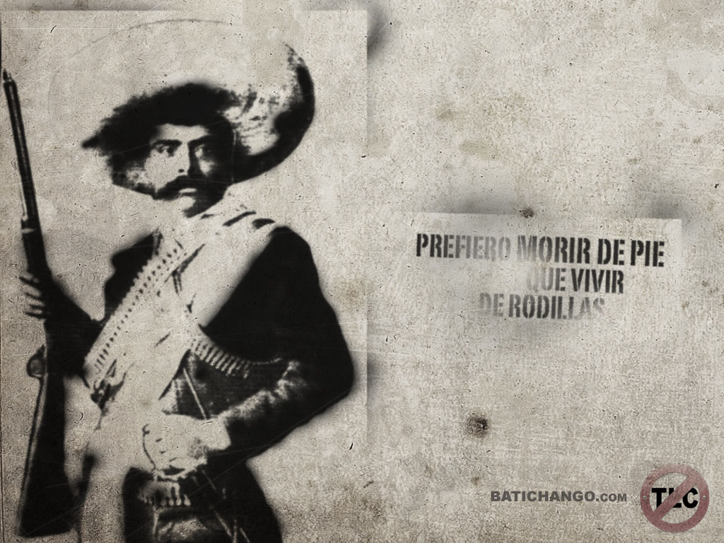 Historical Wallpapers Emiliano Zapata 1879 1919 1024x768