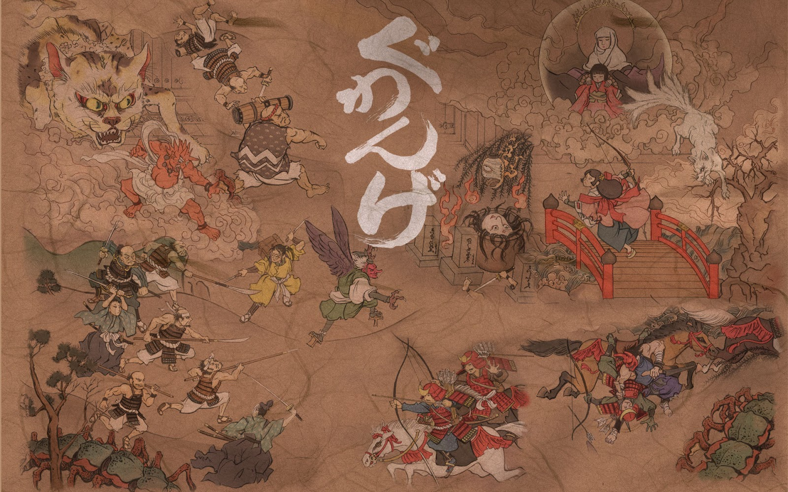 Japanese wallpapers: Asian fantasy wallpapers