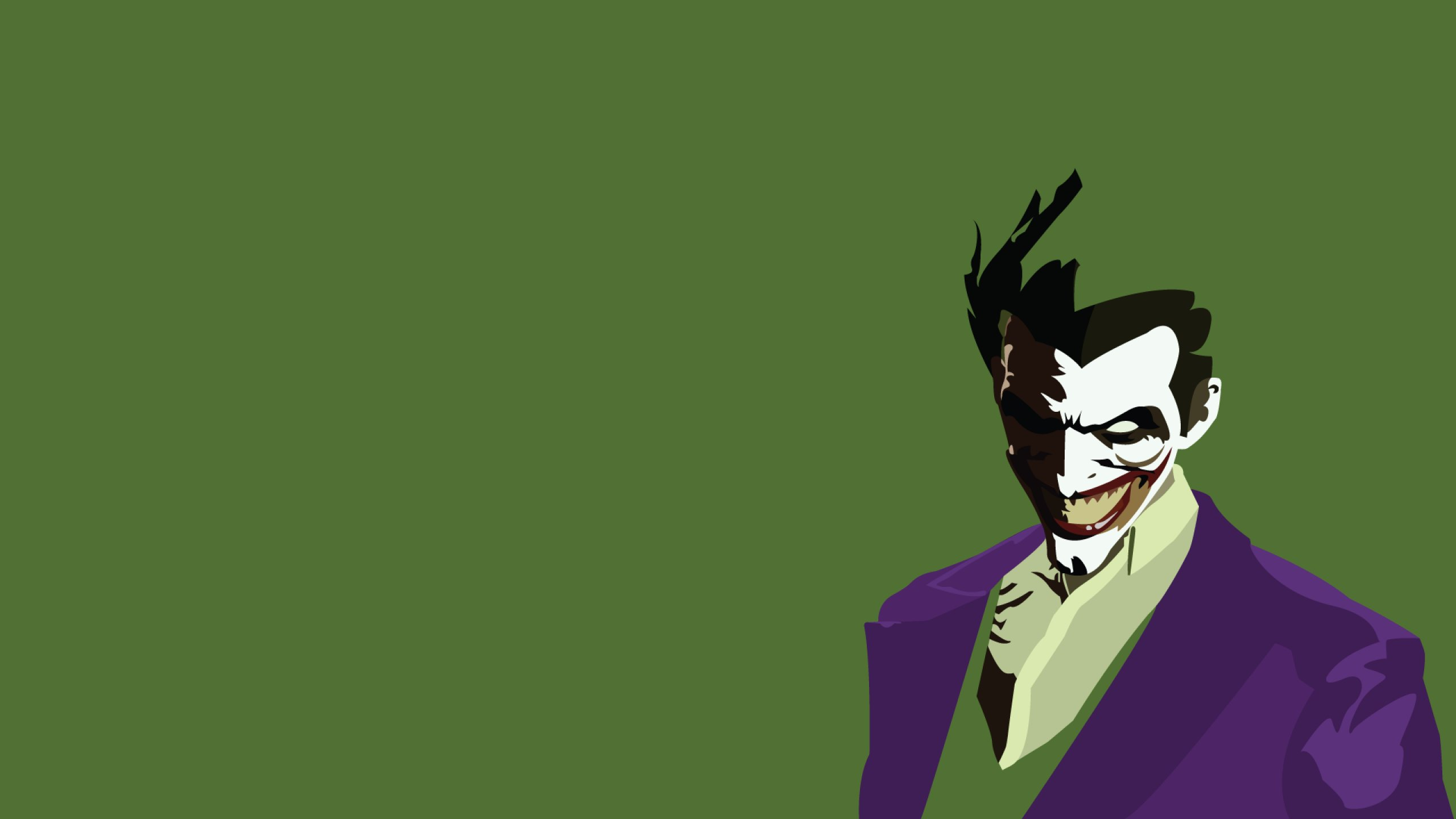 DC COMICS superhero hero warrior d c comics joker batman k 2560x1440