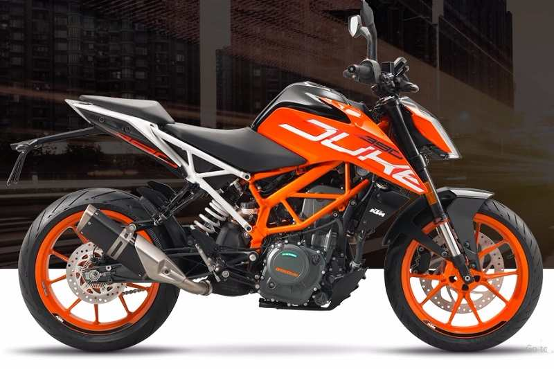 2017 KTM Duke 390 price specifications colours 800x533