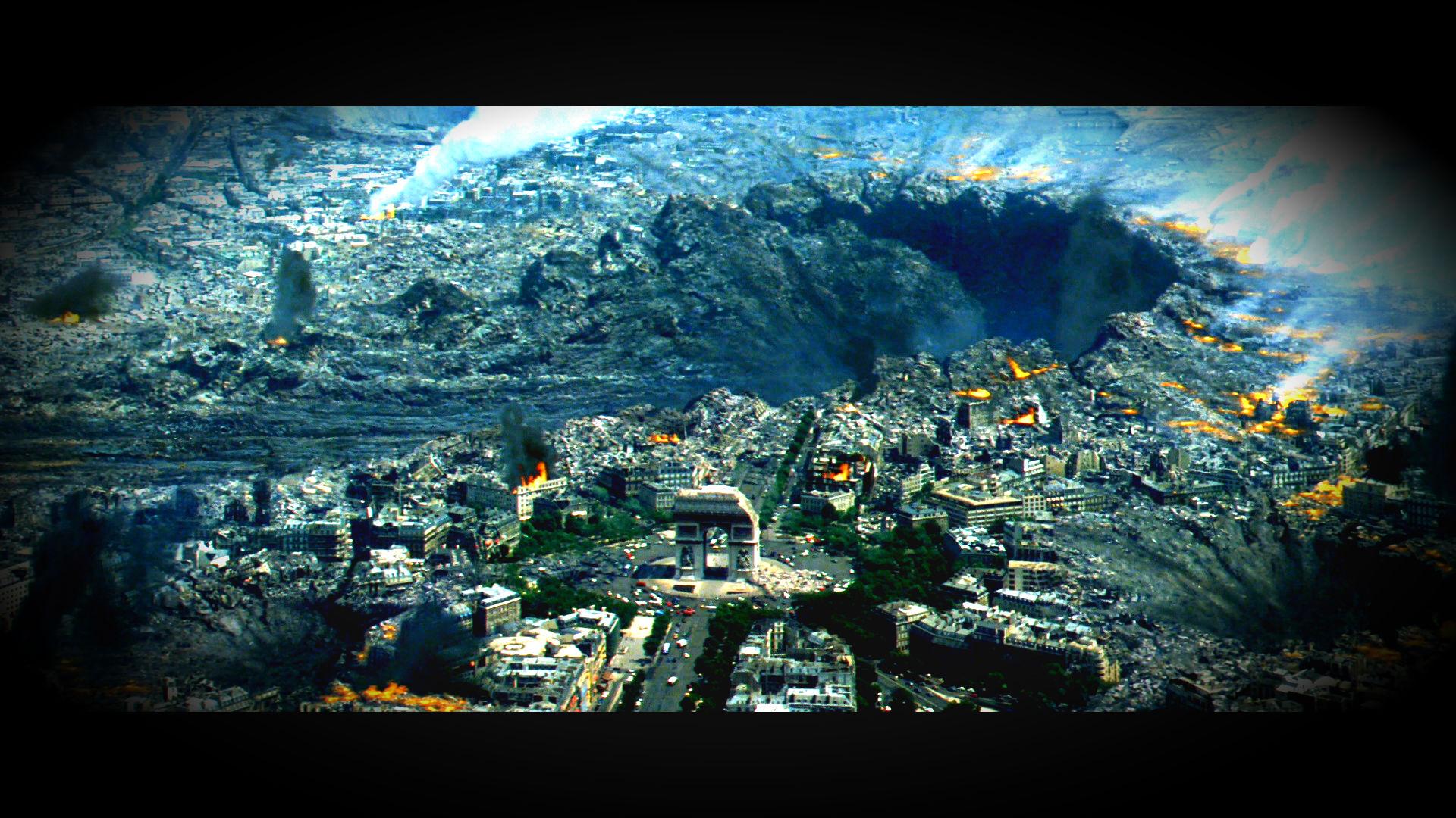 ARMAGEDDON action adventure sci-fi apocalyptic city d ...