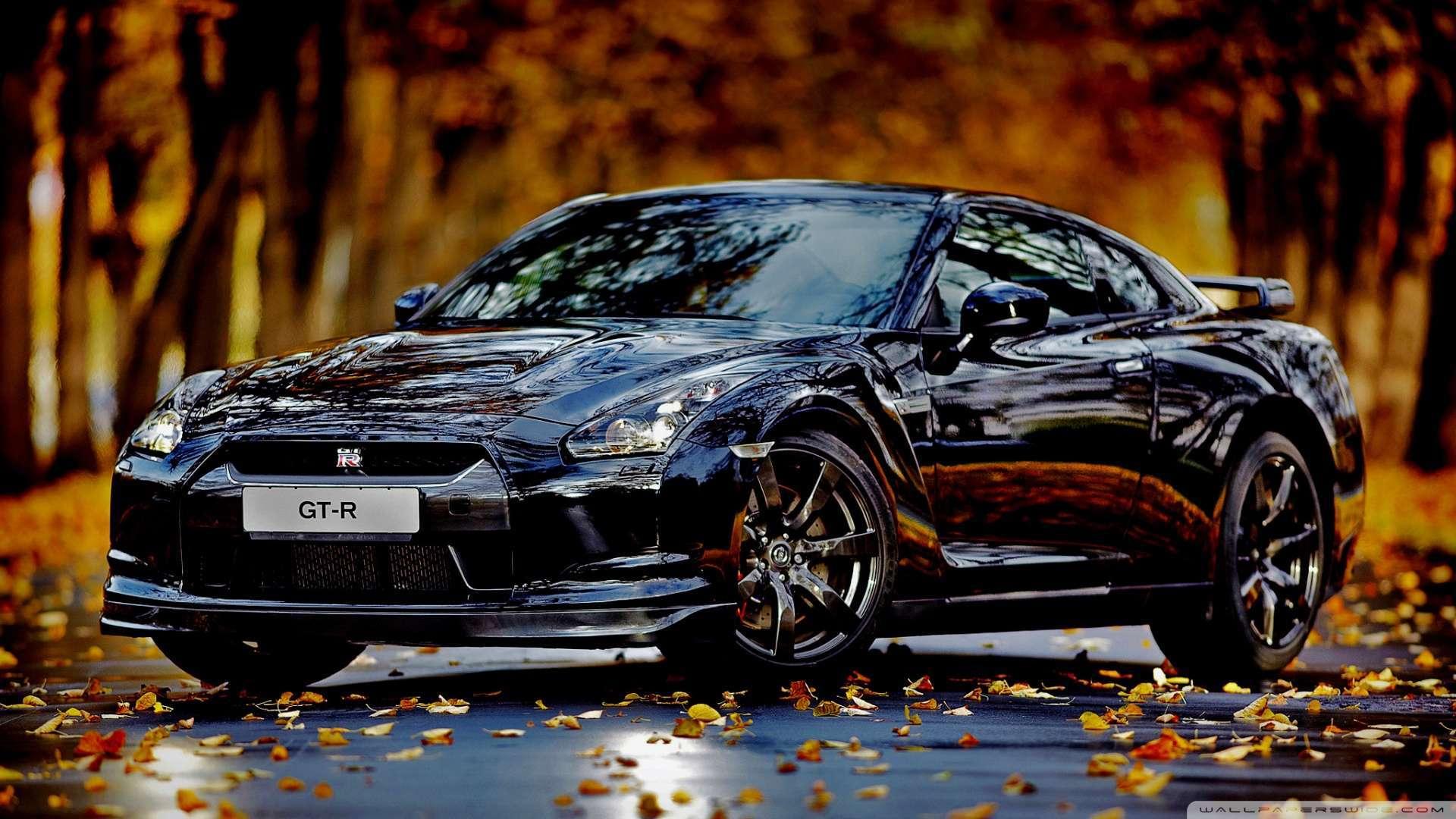 Wallpaper Nissan Skyline Gtr Autumn Wallpaper 1080p HD Upload at 1920x1080