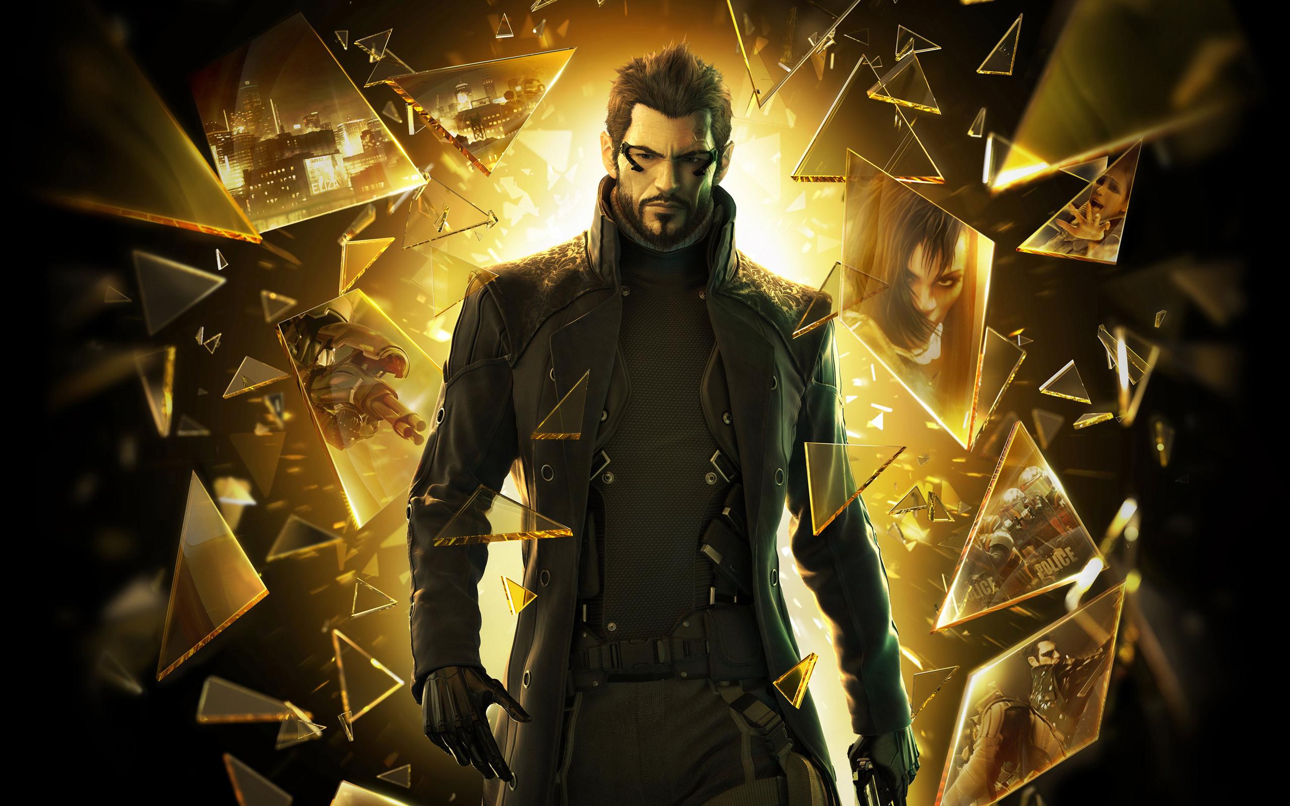 Deus Ex Human Revolution Game Wallpapers HD Wallpapers 2560x1600
