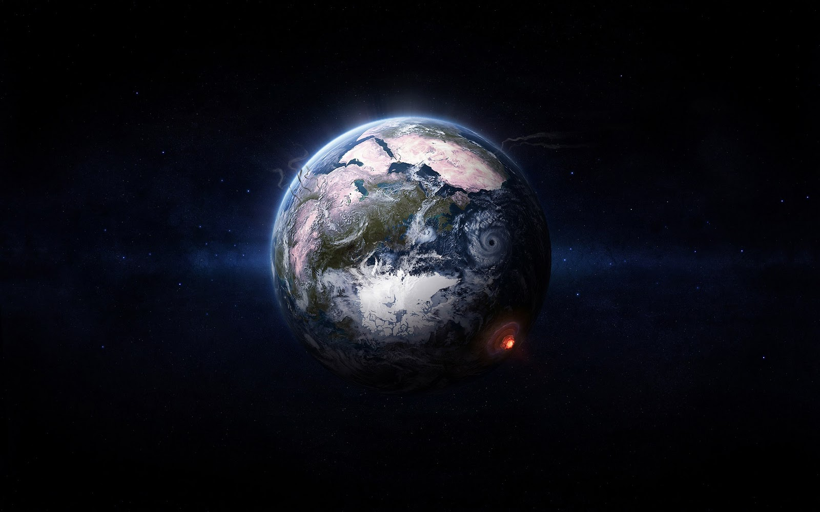 Wallpapers 0s Hd Space Wallpaper 3d Graphics Nuclear Explosion 1 1600 1600x1000
