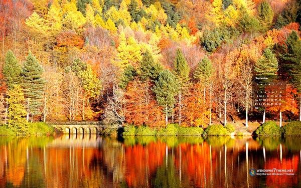 Calendar Theme Wallpaper : September wallpaper and screensaver images wallpapersafari