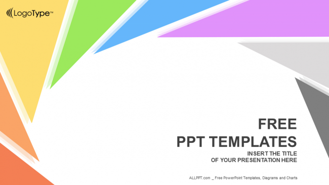 Rotation Triangle Abstract PowerPoint Templates 1 650x365