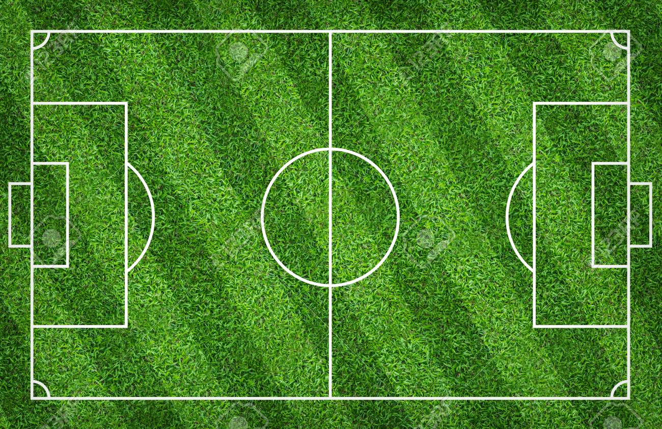 Football Field Or Soccer Field For Background Green Lawn Court 1300x842