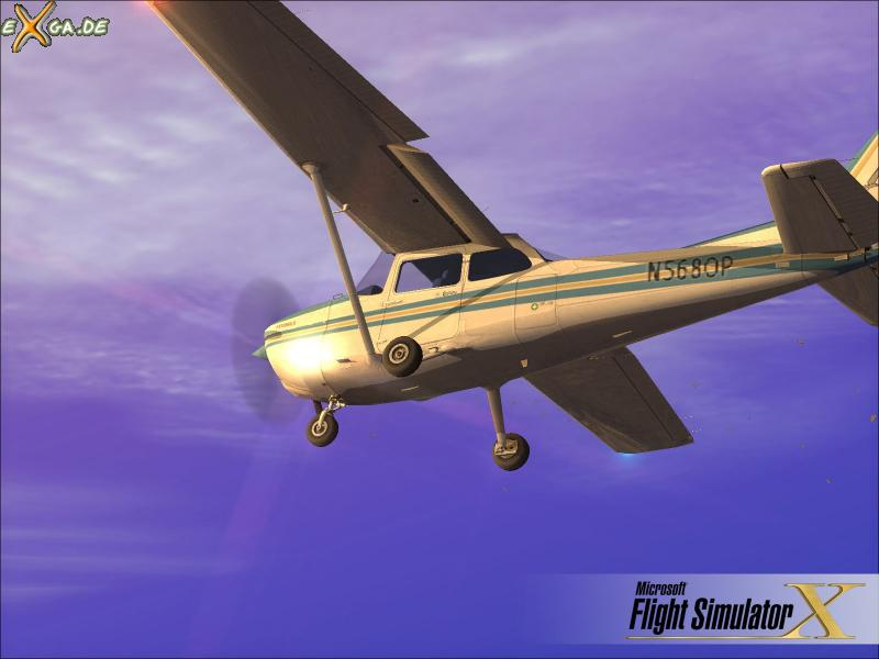 fs11 Screenshot Wallpaper zu Microsoft Flight Simulator X   eXgade 800x600