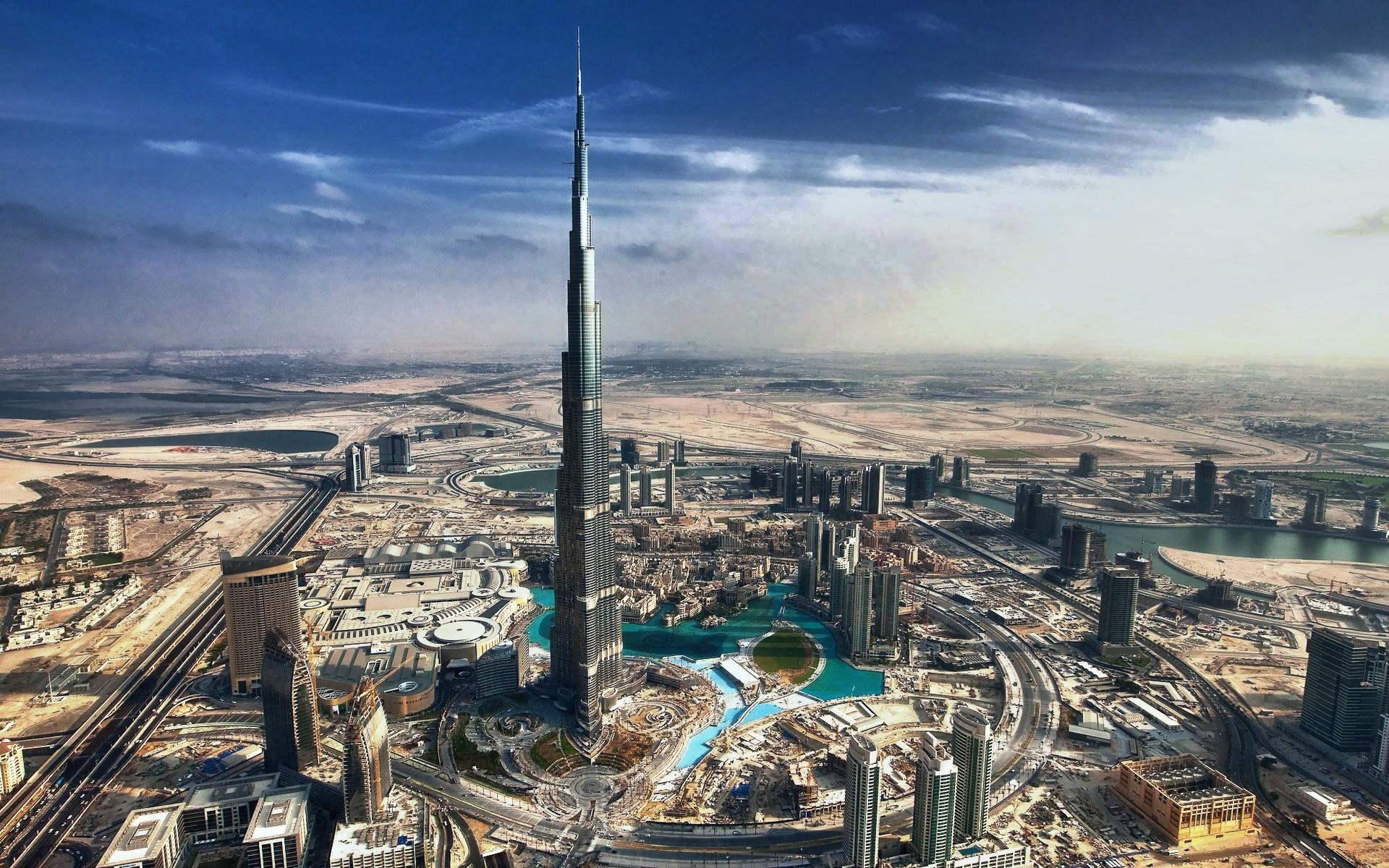Dubai Wallpaper 1920x1200 Cityscapes Dubai Skyscrapers Burj Dubai 1920x1200