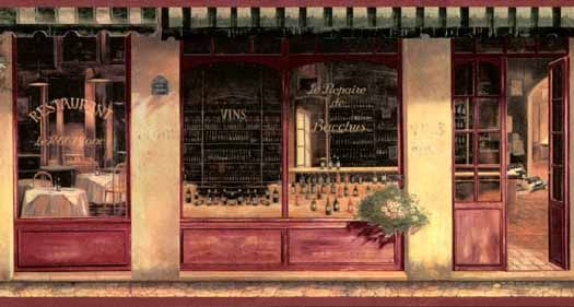 french bistro wallpaper borders French Cafe Wallpaper Border 525x281