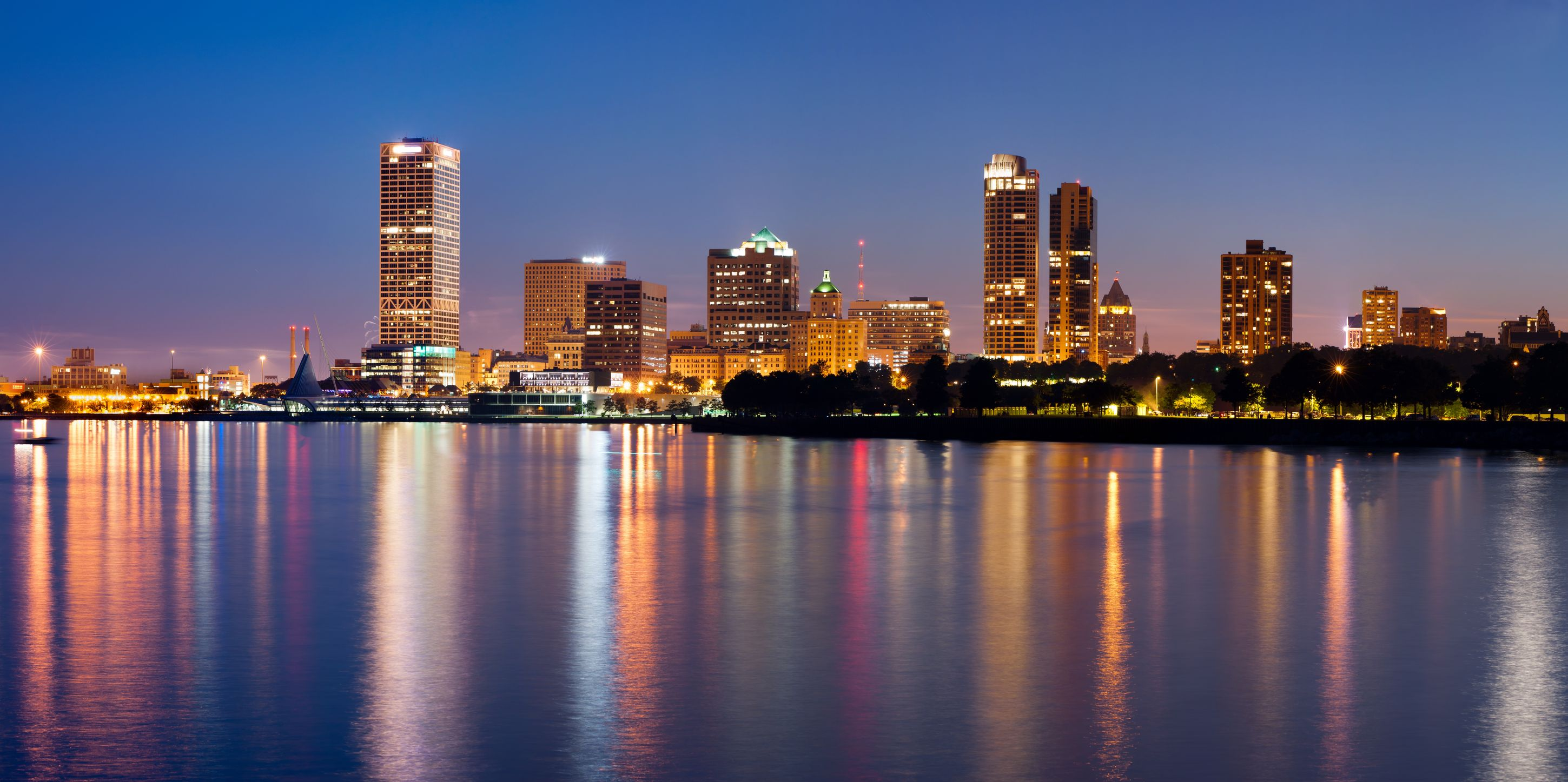 Milwaukee Skylin HD Wallpaper Background Images 2899x1447