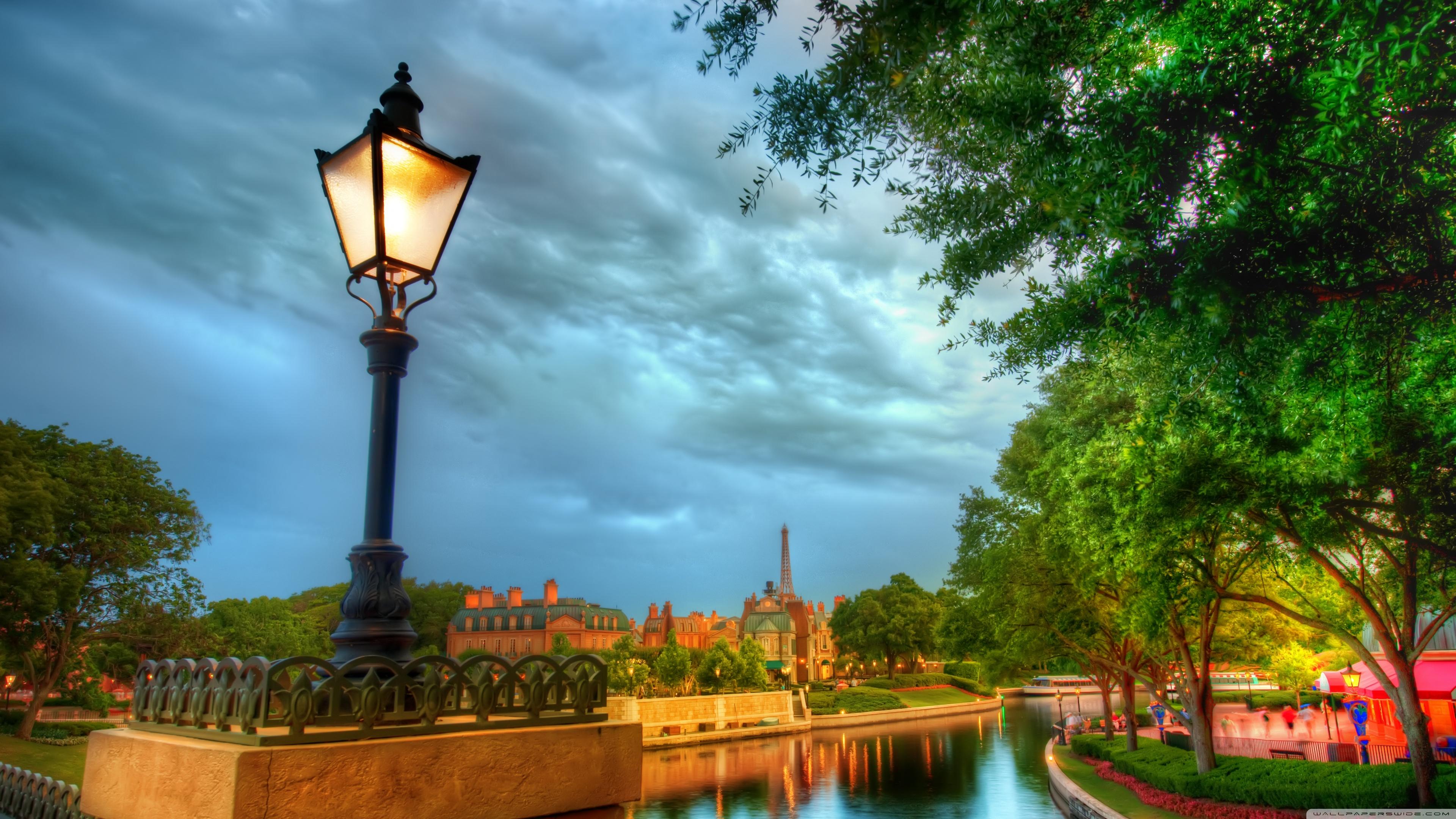 The French Quarter Of Disney 4K HD Desktop Wallpaper for 4K 3840x2160