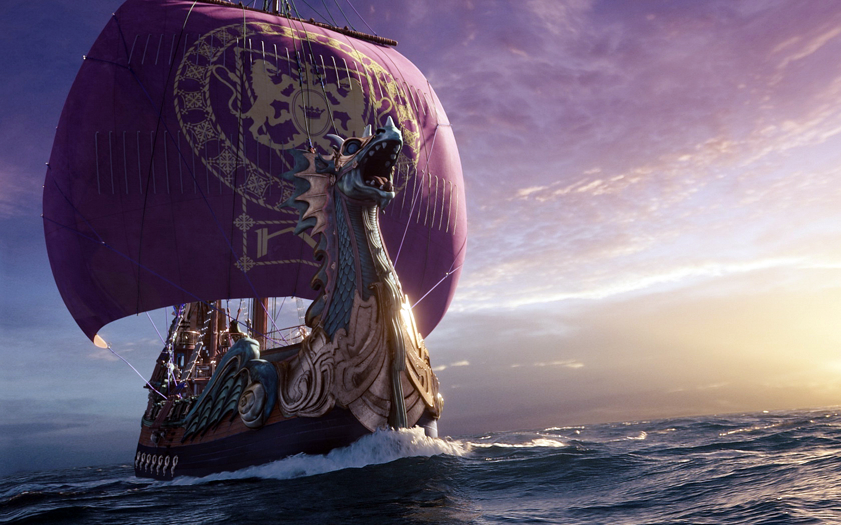 Painting Viking Long Ship wallpaper 1680x1050 124871 WallpaperUP 1680x1050