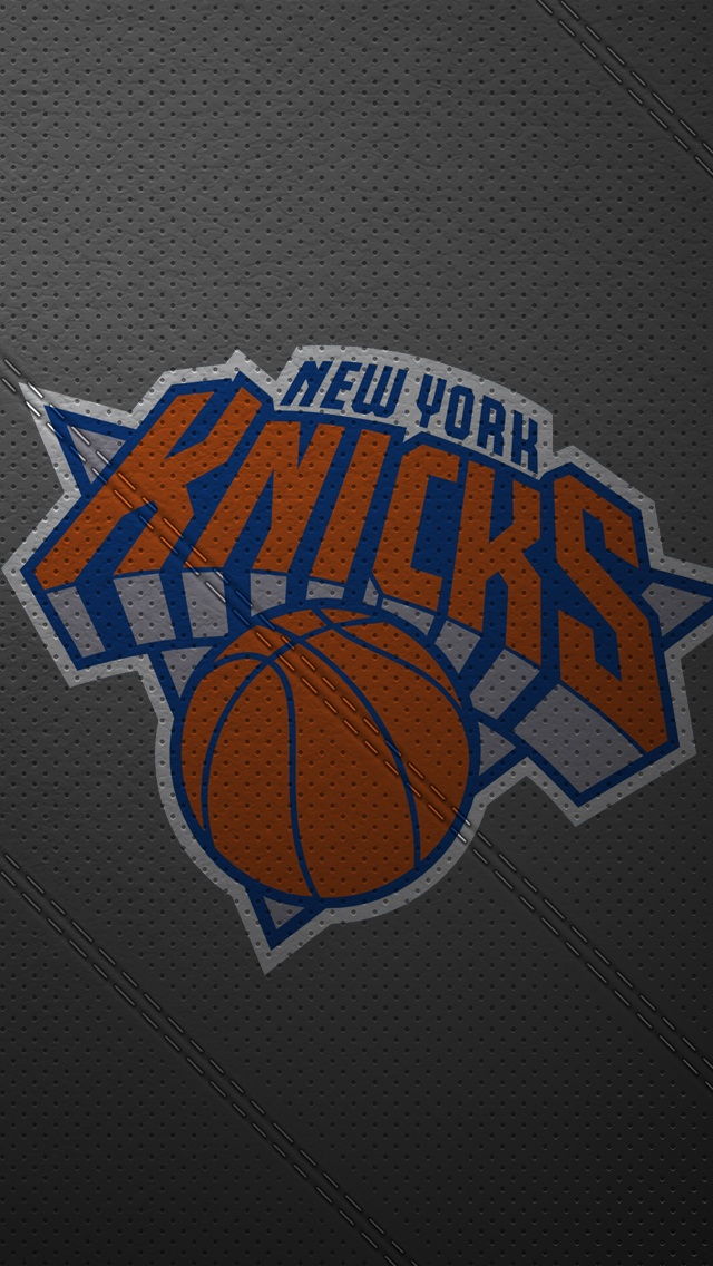 Knicks Logo Iphone Wallpaper Iphone 5 wallpaper leather ny 640x1136