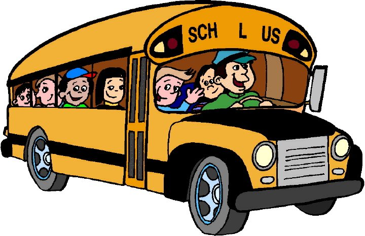School Bus Clip Art 720x466
