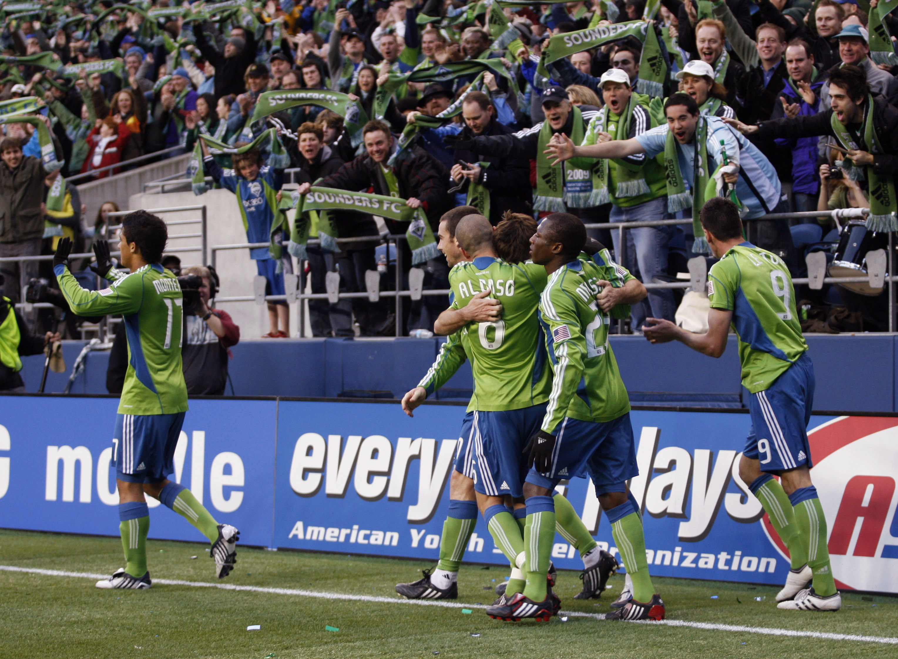 Seattle Sounders FC Images | TheCelebrityPix