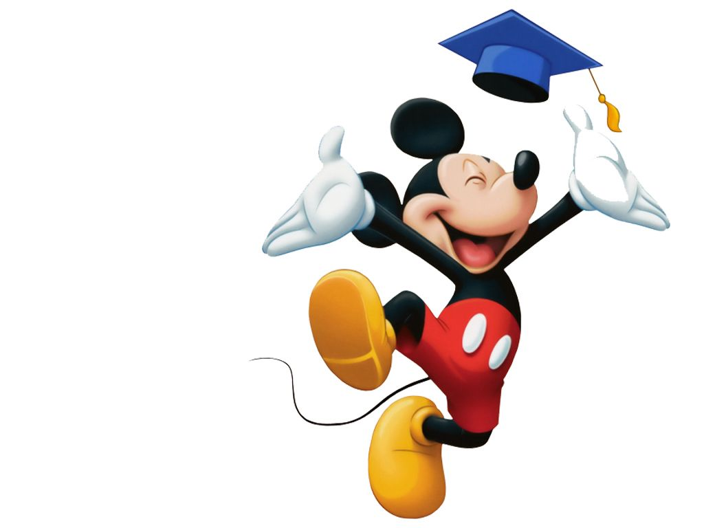 Free download Mickey Mouse Graduation Wallpaper For Phone