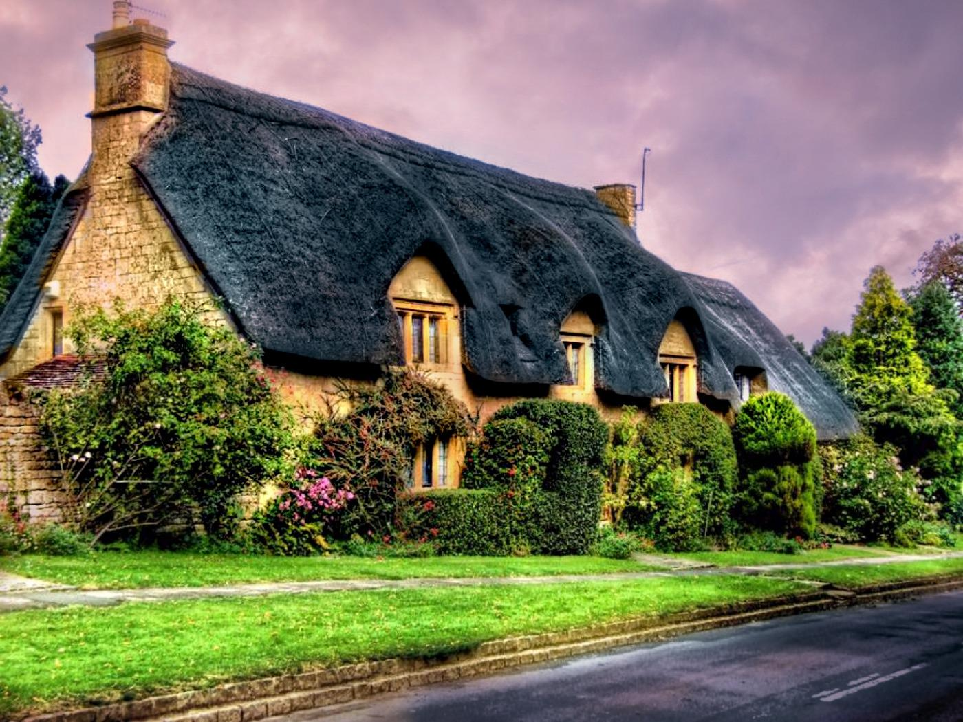English cottage   131049   High Quality and Resolution Wallpapers 1400x1050