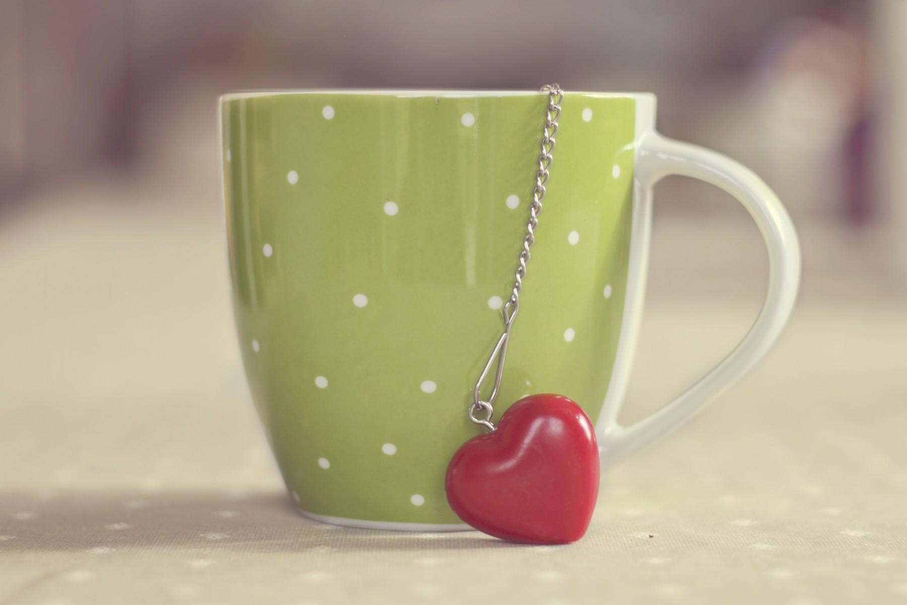 Tea coffee mug wallpaper 8135 PC en 1800x1200