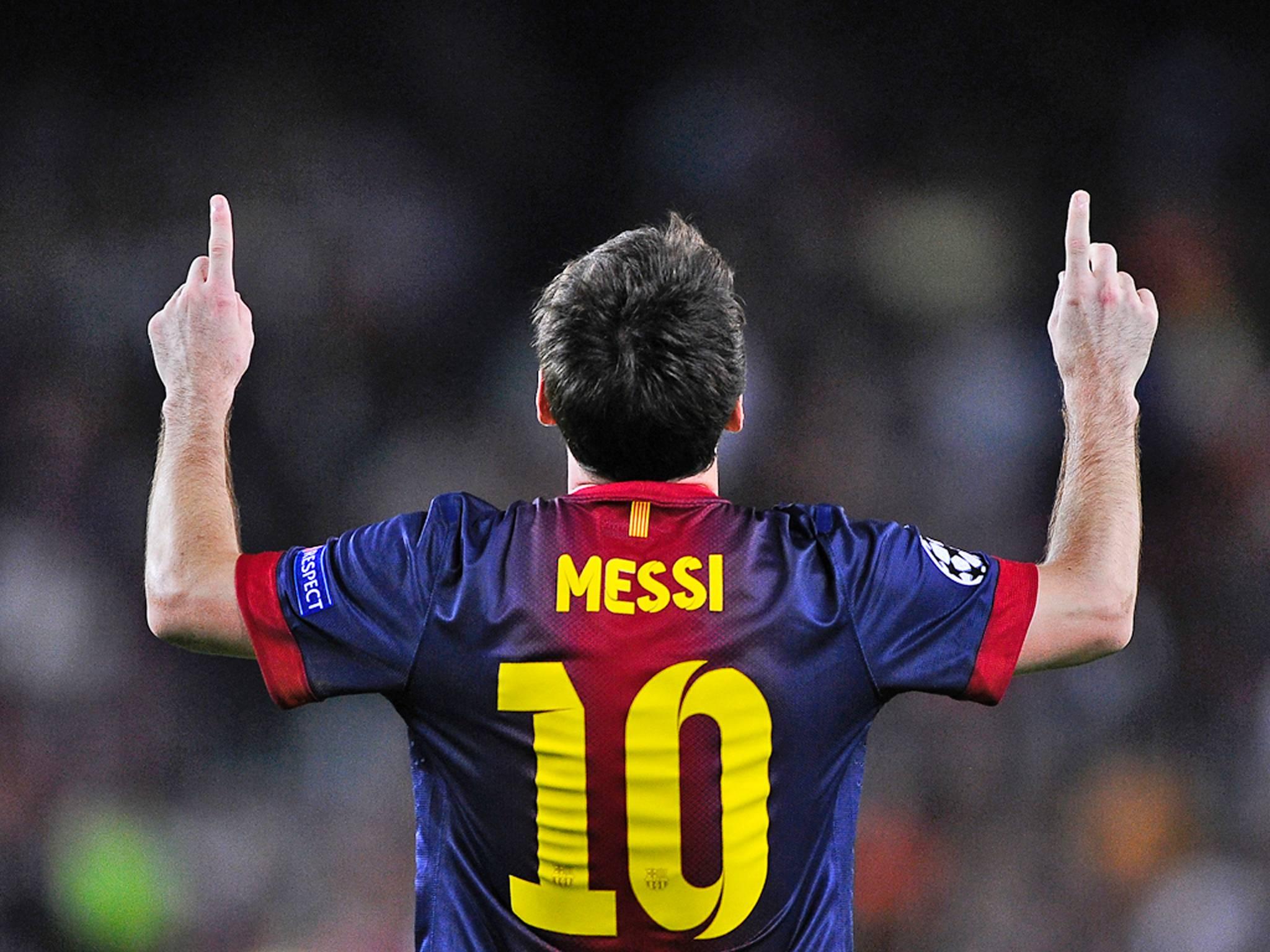 Download Lionel Messi 10 Celebration Wallpaper 12193 Wallpaper 2048x1536