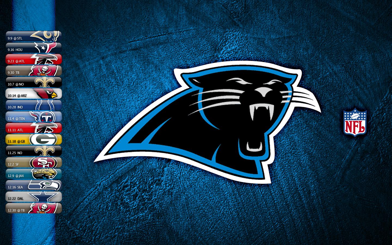 Carolina Panthers Logo Wallpaper NFL Carolina Panthers Logo Wallpaper 1440x900