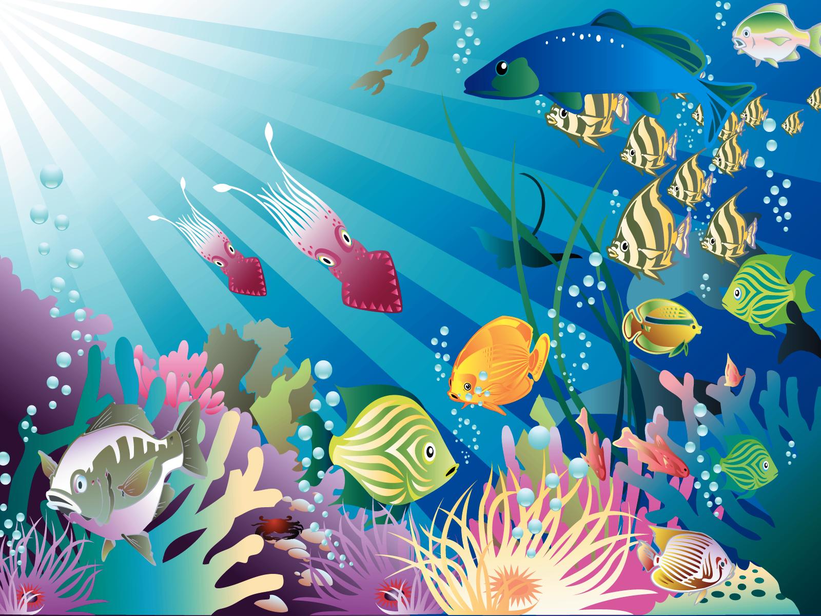 Virtual fish tank aquarium google - Animated Aquarium Desktop Wallpaper Www Wallpapers In Hd Com
