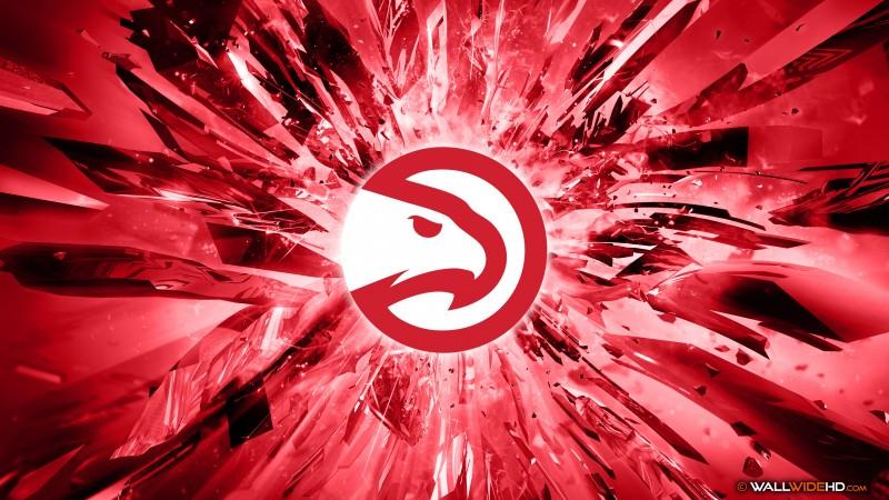 hawks 2015 logo 4k wallpaper description download atlanta hawks 2015 800x450