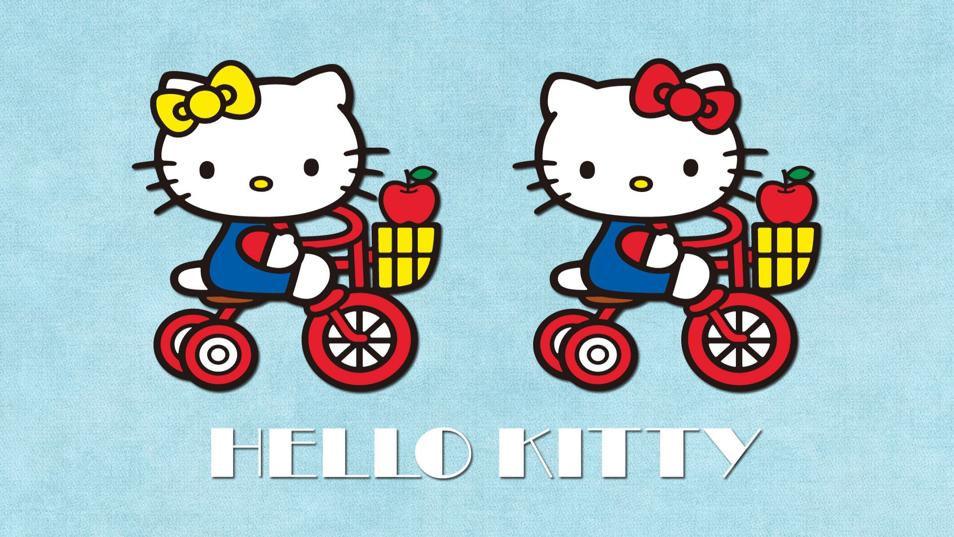 Hello Kitty And Mimmy wallpaper   694111 1920x1080