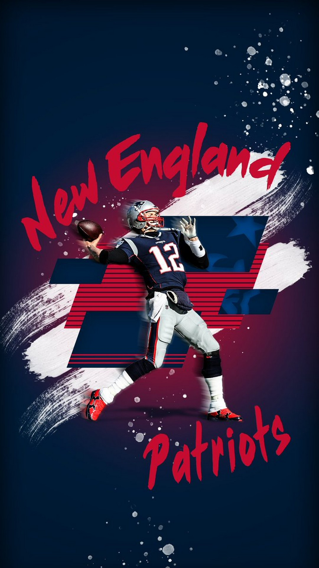 Tom Brady Patriots iPhone 7 Wallpaper 2020 NFL Football Wallpapers 1080x1920