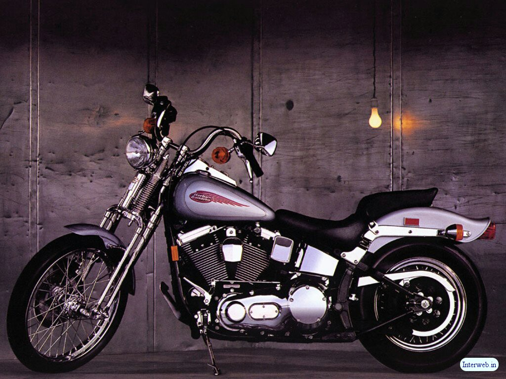 Harley Davidson Custom Edition Wallpaper 1024x768