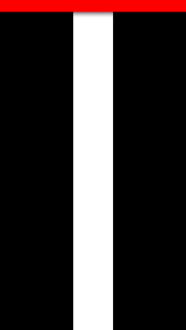 iPhone 5 Wallpaper White simple black stripe 640x1136