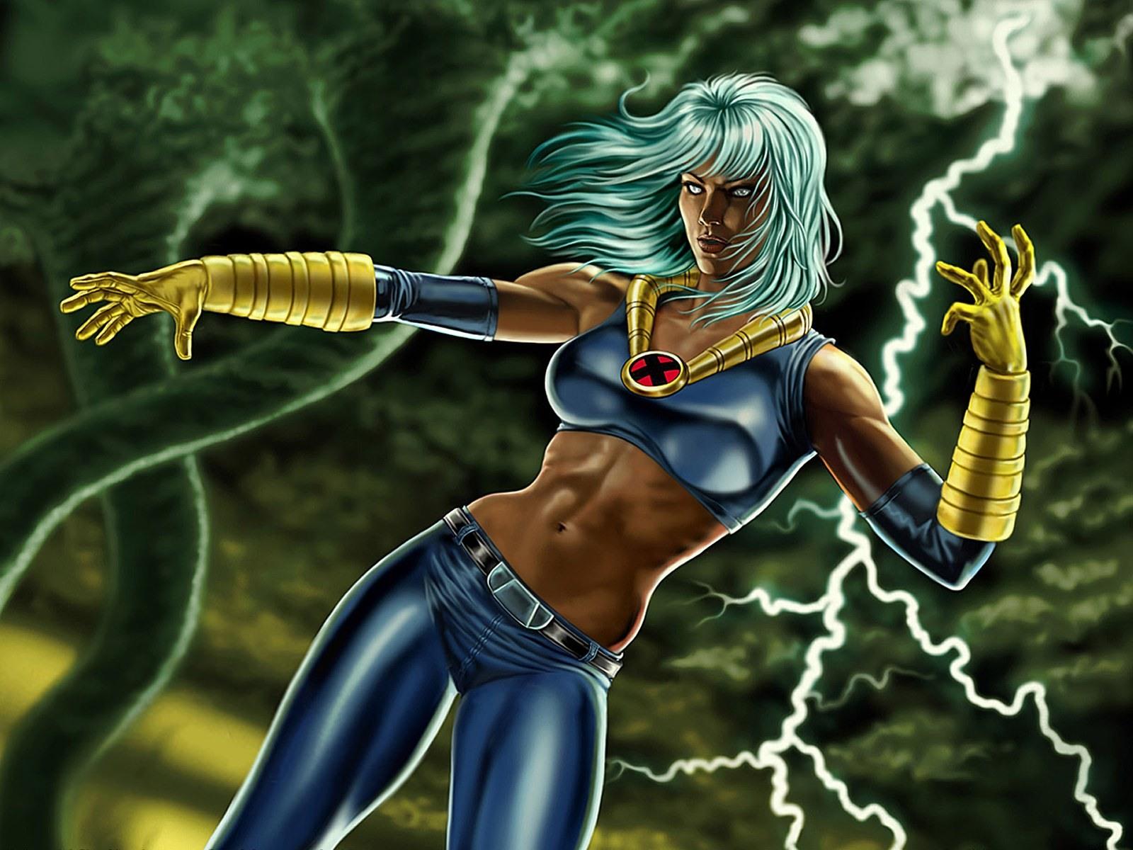 Storm X Men Comics Wallpapers Download 1600x1200