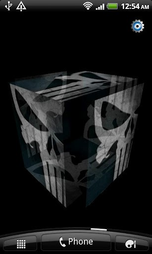 View bigger - Punisher 3D Live Wallpaper for Android screenshot