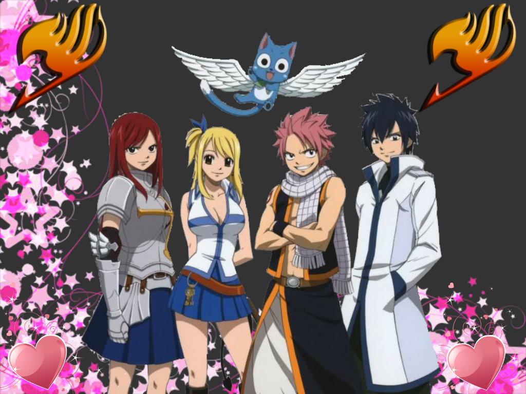 Team Natsu Love by Soul Sanna Dragneel   Fairy Tail Fan Art 1024x768