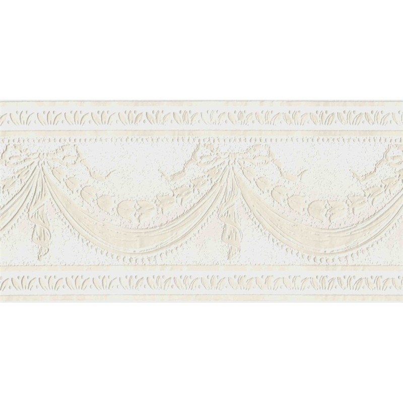 Wallpaper Border Architectural Paintable Swag Border 800x800