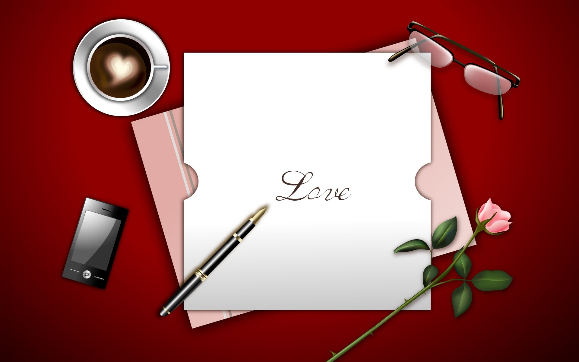 Love letter wallpapers Love letter stock photos 1920x1200