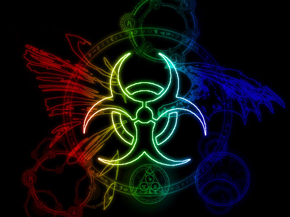 Biohazard Symbol Wallpapers 1152x864