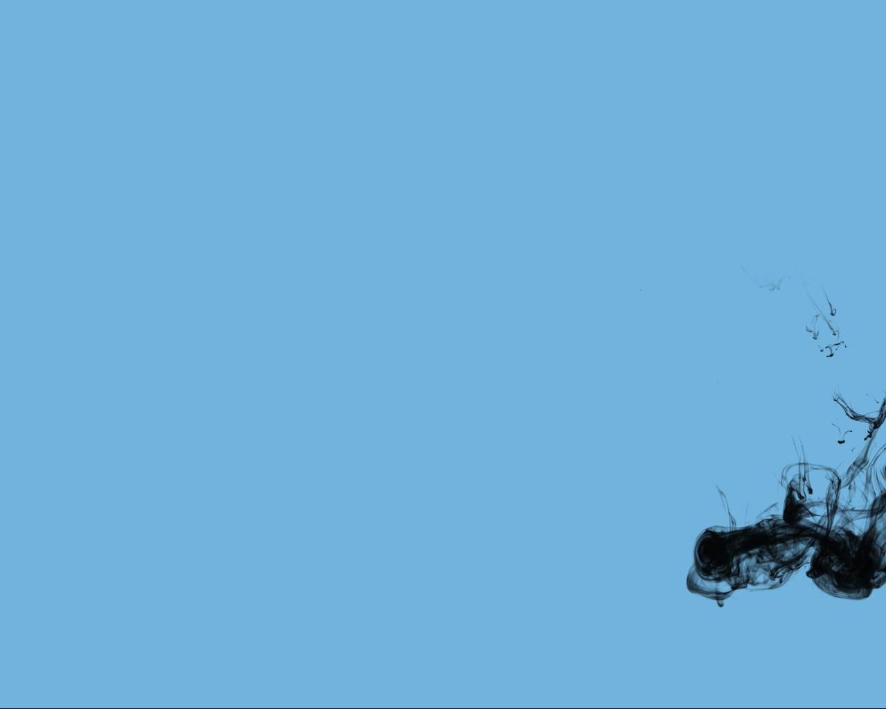 1280x1024 Baby Blue Black Wallpaper Blue Wallpapers 1280x1024